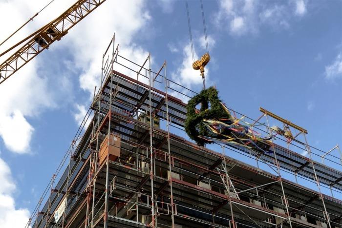 Richtfest für neue Arbeitswelten im Technologiepark