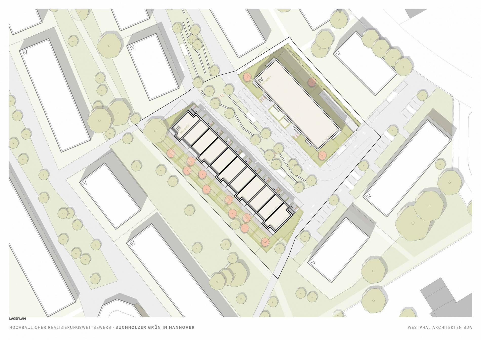 Buchholzer Grün 03 Lageplan