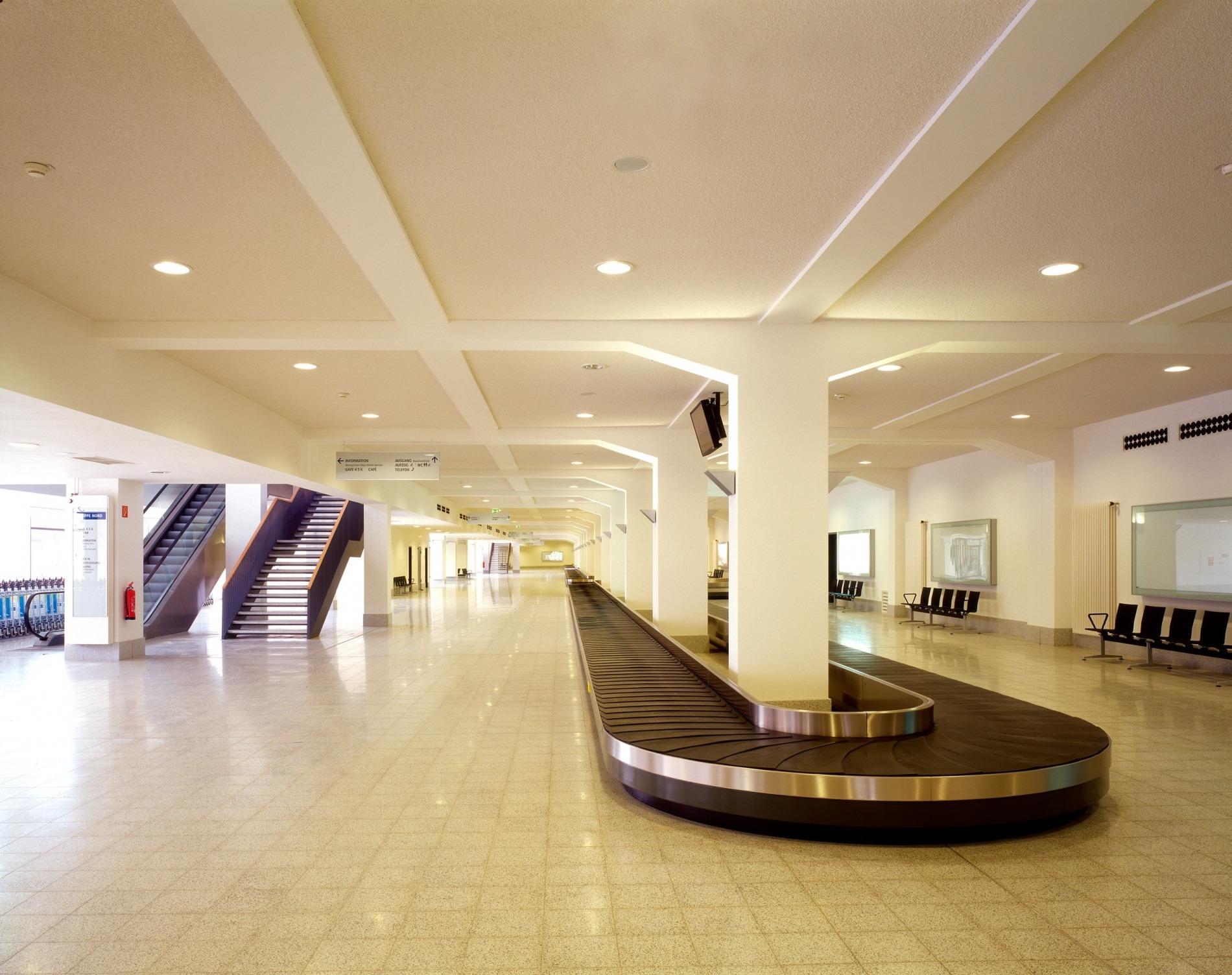 Columbusbahnhof 07 Gepäckausgabe Erdgeschoss