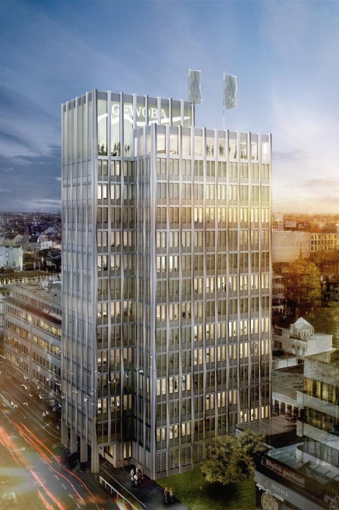 GEWOBA Hochhaus Bremen Wettbewerb
