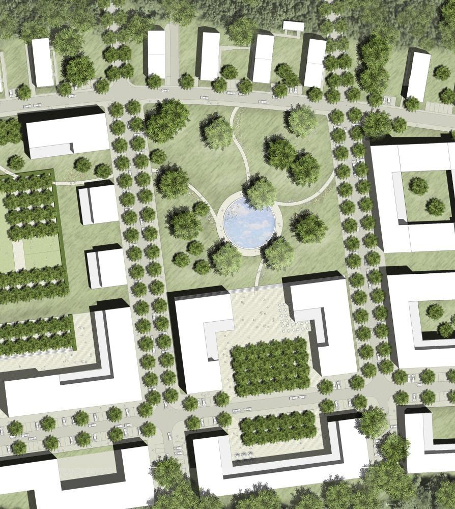 Gesundheitspark Friedehorst 02 Lageplan klein