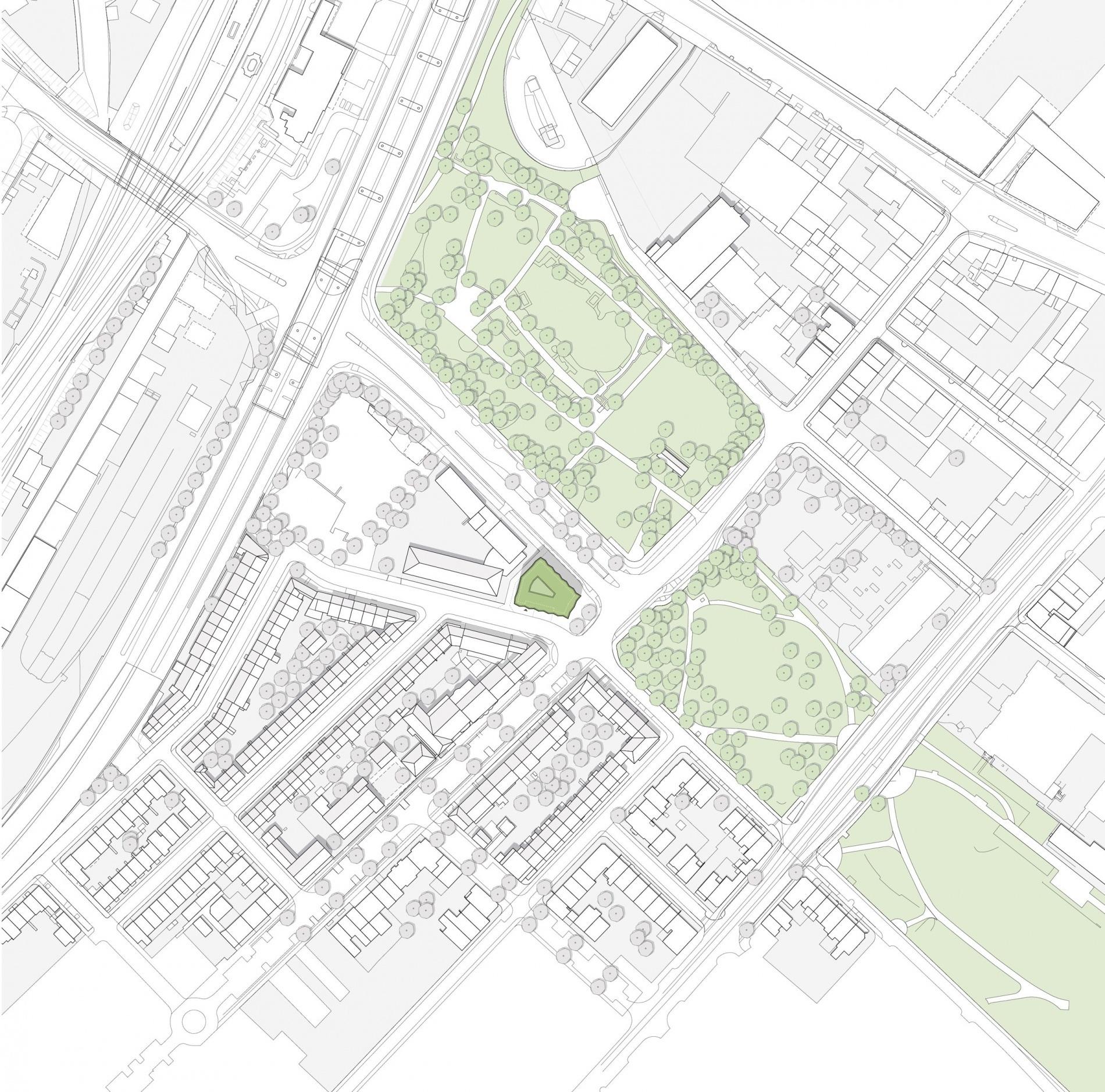 Hohentorsplatz 02 Lageplan