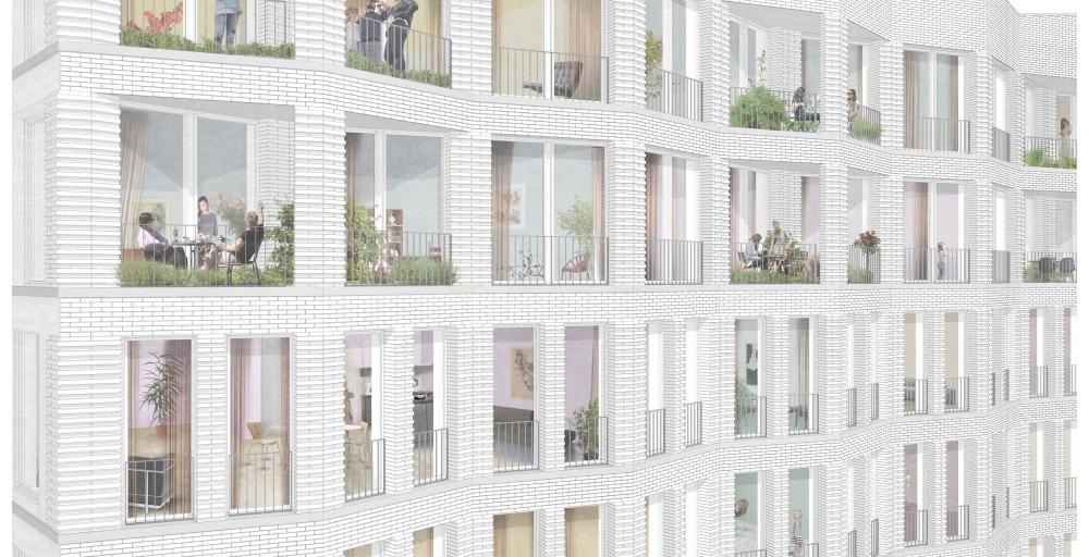 Hohentorsplatz 04 Skizze Fassade