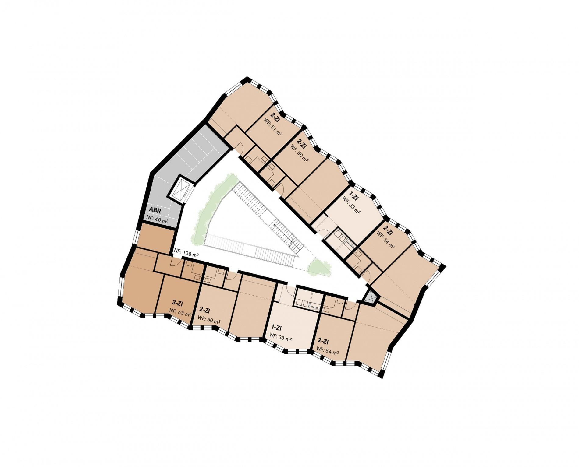Hohentorsplatz 12 Regelgeschoss