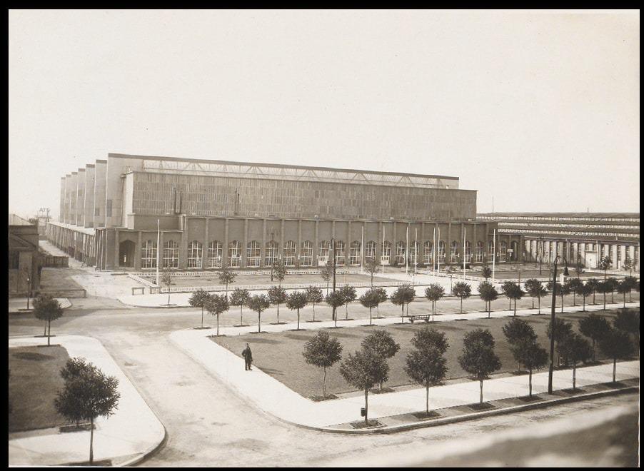 Messehalle 15 03 von 1928 aussen