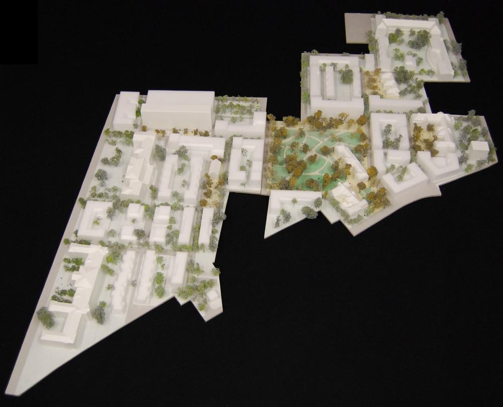Neues Hulsbergviertel 08 Modellfoto