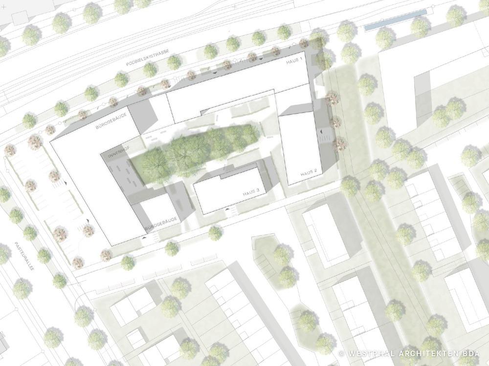 Podbielskistrasse 04 Lageplan