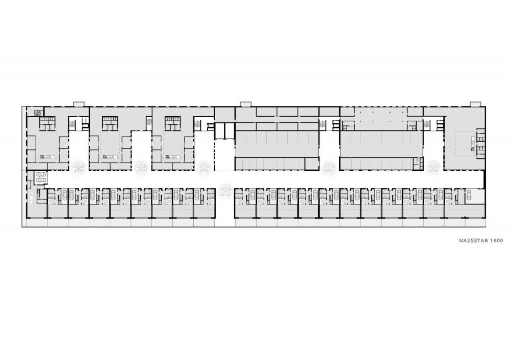 Schuppen Eins 12 Zeichnung Obergeschoss_000001