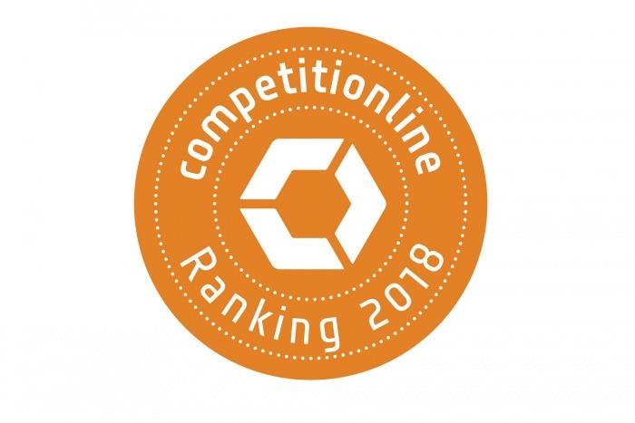 Platz 23 im competitionline-Ranking