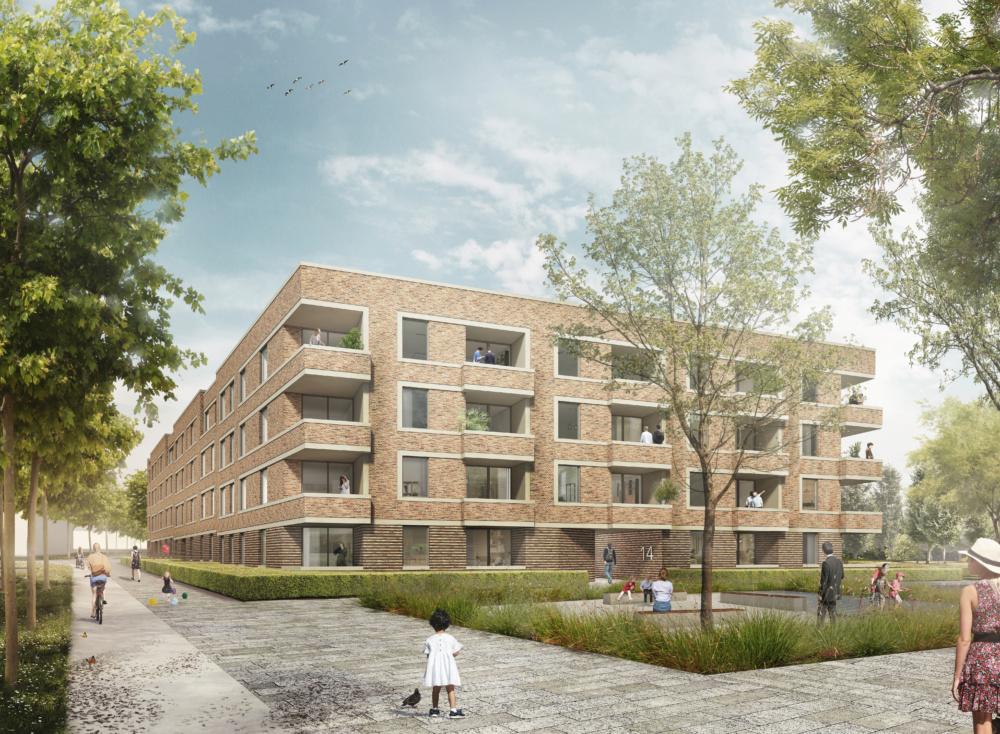 Wohnungsbau in Hannover Kronsberg Süd
