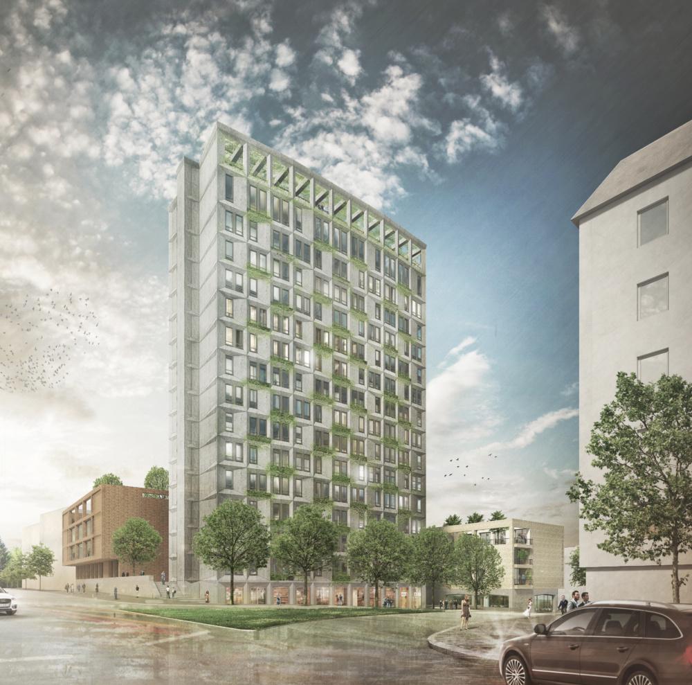 Areal Bundeswehrhochhaus Breitenweg - Westphal Architekten BDA