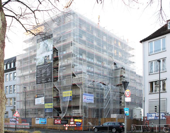 Rohbau Kontorhaus Am Wall